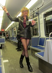 Heading Downtown (MarcieGurl) Tags: crossdressing tgirl transgender tranny crossdresser marciegurl marciegirl