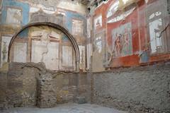 Roman Colours (JDWCurtis) Tags: italy history ancienthistory ruins walls herculaneum romanruins paintedwalls romantown romaan ancientpaintedwalls