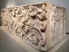 Medea Sarcophagus, oblique view from right