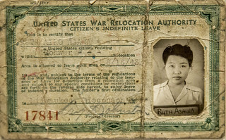 Japanese-American Forced Relocation ID