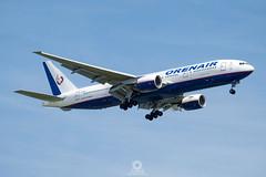 Boeing777-2Q8(ER)   VP-BHB   ORENAIR (Orenburg Airlines) (Max Alpha X-ray) Tags: orb boeing r2 bkk boeing777 b777 b772 orenburg suvarnabhumiairport vtbs orenair orenburgairlines suvarnbhumi boeing777200er b777200er orenair777