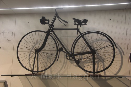A bike at Coventry Transport Museum