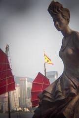 Anita Mui Statue (fung1981) Tags: hk statue hongkong harbor harbour   tsimshatsui victoriaharbour victoriaharbor       anitamui