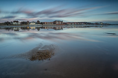 It's behind you (tolle13) Tags: sunset reflections wirral westkirby