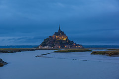 "Mont Saint-Michel (""DJ"" Villanueva) Tags: sunset vacation seascape france castle rain europe sony normandy montsaintmichel 2015 beauvoir nex7 djvillanueva desereejoyvillanueva sonynex7"