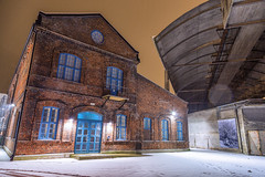 Old building (Terje Lægreid) Tags: longexposure travel winter light sky cloud mountain snow mountains nature beautiful beauty weather norway shop clouds canon psp lights norge paint pretty mood factory moody cloudy norwegen pro scandinavia cloudporn fjords skyer fjell hardanger lightroom industri odda wounderful visitnorway norvegen eos6d skylovers bestofnorway wounderfulplaces