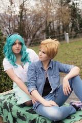 DSC_4086 (XRavenheartPH) Tags: moon cute girl couple foto cosplay persone haruka di yuri cosplayer sailor neptune uranus gruppo michiru bambino allaperto