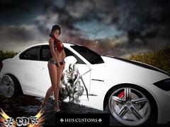 CDChiaraHusCUSTOMSCAR (*CD* Chanla Design) Tags: auto car outfit cd sl bmw chiara hus costums