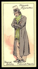 Cigarette Card - Dismal Jemmy (cigcardpix) Tags: vintage advertising ephemera dickens cigarettecards