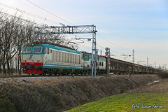 E652 075 + E655 + Transwaggon (equo25) Tags: merci treno ferrovia guterzug