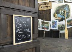 Jungle Cruise Wait Time (evaxebra) Tags: