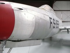 "Republic F-84 Thunderjet 7 • <a style=""font-size:0.8em;"" href=""http://www.flickr.com/photos/81723459@N04/24723364886/"" target=""_blank"">View on Flickr</a>"