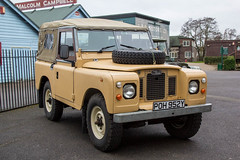 Brooklands Winter Classic Breakfast 2016 - 1982 Land Rover (POH 952Y) (growler2ndrow) Tags: 4x4 rover land