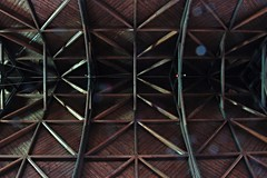Timber ceiling (Wider World) Tags: scotland glasgow westend stsilas episcopal church neogothic honeyman ceiling timber beams zigzag slowexposure 30secondexposure anglican scottishepiscopalchurch