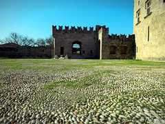 castle of knights , Rhodes (braziliana13) Tags: sky building architecture nikon place outdoor greece knights historical rodos rhodes greekisland   greekhistory    castleof