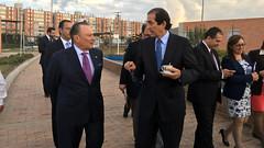 Competitividad, vivienda y transporte público: temas de intercambio con Colombia