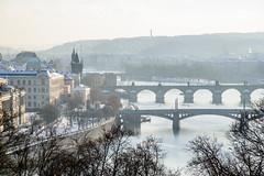 Praha Prag Prague (Hi~Rabbit) Tags: bridge czech prague prag charles praha most cz vltava republika moldau karlv  prask esko esk    kamenn