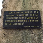 "Bolivar Quote <a style=""margin-left:10px; font-size:0.8em;"" href=""http://www.flickr.com/photos/14315427@N00/25009091541/"" target=""_blank"">@flickr</a>"