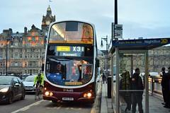Edinburgh. (Sneeze82) Tags: edinburgh x31 745 timesaver lothianbuses volvob9 wrightgemini limitedstop sn55bou