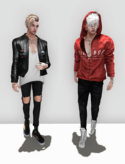 Get someone you love, get someone you need. Fuck that, get money. (Levi Megadon // *OMG*) Tags: street new urban male men look leather shirt ink hair pumpkin mom skinny nose blog hoodie outfit clothing cool shoes pants mesh coat ripped style fresh piercing sneakers tattoos clothes sl jeans event jacket secondlife mens tanktop denim kicks dope mons loose baggy rut lotd bolson kito flite drot bodyfactory monso vexiin menonlymonthly