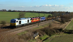 DB Schenker  60066, 90037 and 90024 (dgh2222) Tags: working class burn infrastructure 90 60 90024 ecml 90037 60066