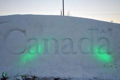 Canada Govt snow wall pb (Patricia Bourque Photographer) Tags: events pei snowfestival jackfrost jackfrost2016