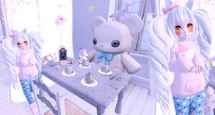 birthday party (Yukiterudiary) Tags: birthday anime cute cake kawaii m3 tsg kemono halfdeer tamagosenbei asteroidbox