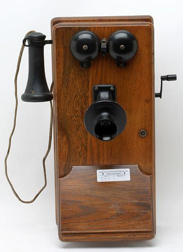 Kellogg Oak Wall Phone - $143.00