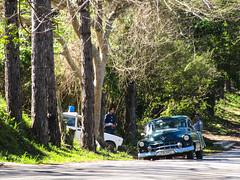 """Viñales: on se croirait dans un vieux film avec la vieille voiture de police et son gros girophare <a style=""""margin-left:10px; font-size:0.8em;"""" href=""""http://www.flickr.com/photos/127723101@N04/25400694456/"""" target=""""_blank"""">@flickr</a>"""