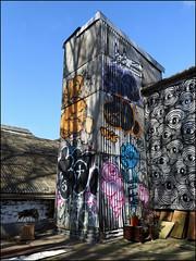 Hotdog, Lord, Famos... (Alex Ellison) Tags: urban rooftop graffiti boobs graff throwup trackside northlondon throwie
