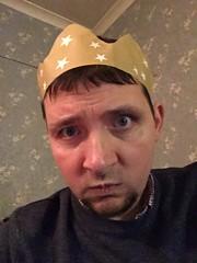 Christmas Hat (DJ Damien) Tags: christmas chris phone myspace january2g16