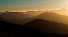 Touch highs (Mehdi LABIDI) Tags: world voyage travel light sunset orange sun france mountains nature lines montagne alpes grenoble soleil warm ray coucher chamrousse rhonealpes piouprod mehdilabidi