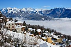 Malcantone villaggi (Photo by Lele) Tags: montagne ticino neve di svizzera nebbia lugano marzo breno 2016 paesi malcantone villaggi cademario arosio