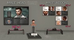 NEW !!! GA.EG HUGO Mesh Head & Addons - Released !!! (Gael Streeter - Gaeline Creations (AO & Fashion)) Tags: life portrait man male beauty face ga de skins lashes mesh skin head avatar manly omega makeup beards avi sl cabeza second lipstick kirsten cosmetics personnes personne materials cabea malla components visage rigged cosmetic enhance enhancement creations brow eg customization fitted malha ellegance applier gaeg hairbases gaeline eyeshsadow elleetgance
