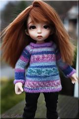 Newest Wig (ban sidhe) Tags: alpaca doll wig bjd hybrid fairyland cony rlf pkf pukifee realfee