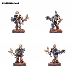 Personnage 3 - Thomas FARATCHE (T'as pas dix ds ?) Tags: spacemarines ultramarine warhammer40000 cassius chaplain gamesworkshop deathwatch deathwatchoverkill