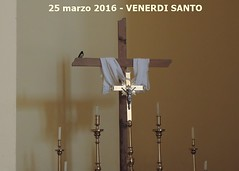 swallow and cross rondine e croce crocifisso  first swallows seen in the church in 2016 - holy friday - 25 march - MAREMMA ITALY (Michele Lamberti) Tags: italy church march cross first holy 25 e swallow friday seen swallows croce maremma 2016 rondine crocifisso