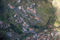 Nuns Valley 3 (i_gallagher) Tags: road above small tiles valley below quinta madeira hairpin overview switchback terraced 2016 idg curraldasfreiras