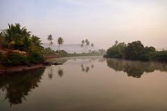 Reflective nature (kailas bhopi) Tags: morning reflection nature landscape 1855 konkan bhagavantgad