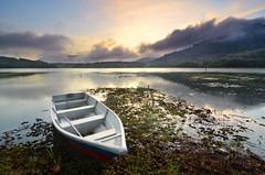 Morning Bliss over Tasik Beris (nadzlan.images) Tags: lake art nature sunrise landscape dawn landscapes malaysia dri kedah waterscape tasik waterscapes sik beris