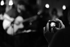 The big black blur (stefankamert) Tags: camera bw black blur concert lowlight exposure dof hand bokeh availablelight finger sony sw fullframe a7 balingen no9 alienskin mirrorless ilce7 sel55f18z fe55mmf18za stefankamert thebigblackblur