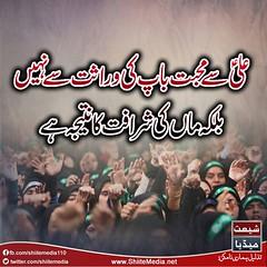 #ImamAli #13rajab #AliDay #YoumeAli (ShiiteMedia) Tags: pakistan shiite imamali aliday 13rajab shianews shiagenocide shiakilling shiitemedia shiapakistan mediashiitenews youmealishia