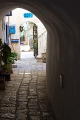 Light and Dark, Old Jaffa (marylea) Tags: old shadow stone israel telaviv shadows bricks historic historical passage lightanddark passageway yafo joppa oldjaffa 2015 may15 telavivyafo