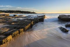 Norah Head Sunrise (dave.gti) Tags: ocean lighthouse beach sunrise landscape rocks tide australia nsw select norahhead