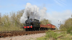 Short Goods (Duck 1966) Tags: train goods steam signals locomotive swithland gcr jinty timelineevents
