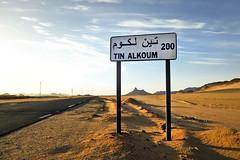 Tinalkoum 200 km   (habib kaki 2) Tags: 3 sahara algeria desert algerie sud rn   djanet rn3 illizi ilizi    tinalkoum     tinalkom