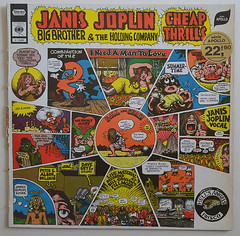 Janis Joplin- Big Brother and the Holding Company: Cheap Thrills (alexisorloff) Tags: records vinyl illustrations albums janisjoplin disques recordsleeves bigbrothertheholdingcompany 33tours pochettesdisques alexisorloff robertcrump