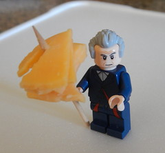 2016-088 - Something on a Stick (Steve Schar) Tags: cheese wisconsin nikon lego doctorwho toothpick cheddar minifigure 2016 sunprairie project365 project366 nikonaw120