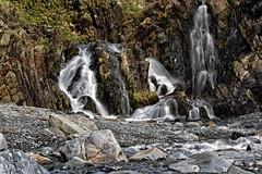 Waterfall (long exposure) (Boba Fett3) Tags: longexposure water landscape outside outdoors rocks devon waterfalls westcountry northdevon welcombe