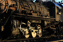 I_B_IMG_6510 (florian_grupp) Tags: china railroad train landscape asia mine desert muslim railway steam xinjiang mikado locomotive coal js steamlocomotive 282 opencastmine sandaoling